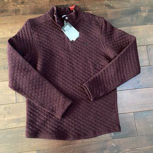Avalance Quilted Taku Pullover Sz Medium Maroon
